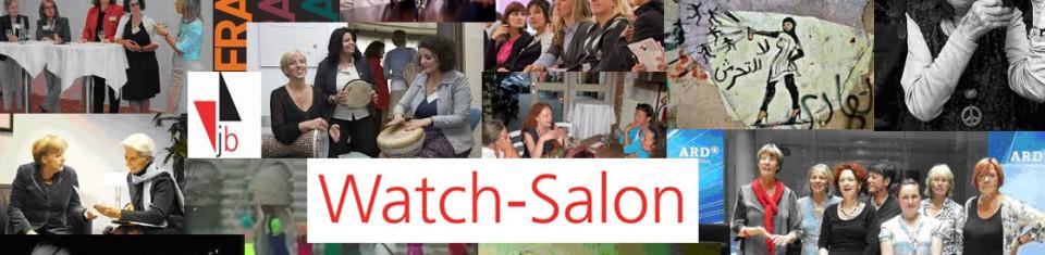 Frauen im Fokus. Der Watch-Salon beobachtet Medien und Gesellschaft /Fotocollage: Magdalena Köster
