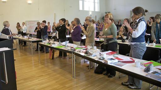 Verabschiedung von Marlies Hesse, langjähriger jb-Geschäftsführerin (Foto: Eva Hehemann)