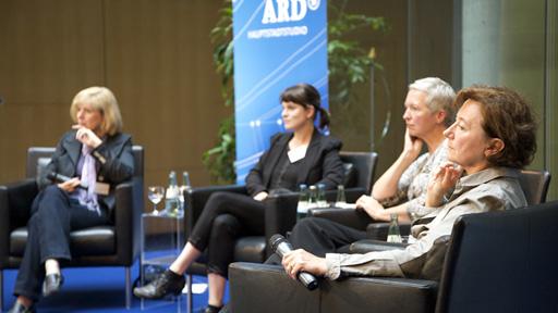 Podiumsdiskussion im ARD-Hauptstadtstudio, (Rechte: Eva Hehemann )