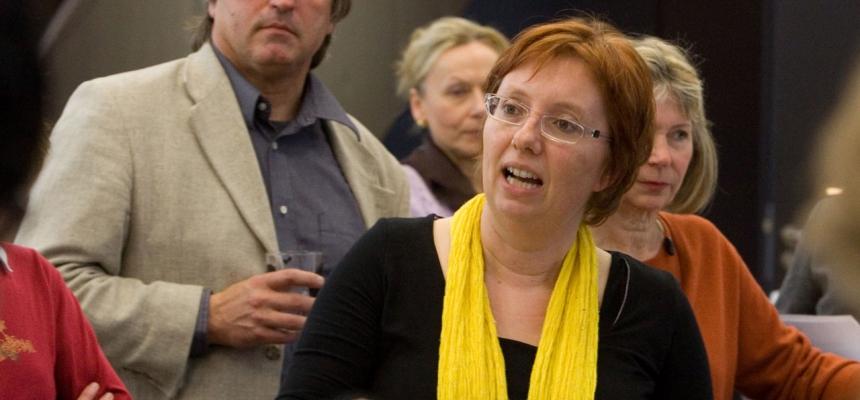 Die Bloggerin Antje Schrupp (Foto: privat)