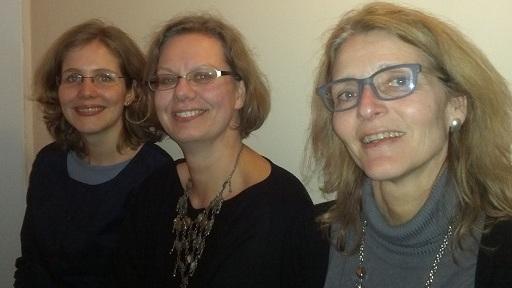 Nina Nickoll, Silja von Rauchhaupt, Margit Schlesinger-Stoll (Foto: Jasmin Andresh)