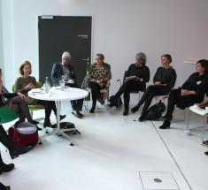 """Medienlabor """"BRIGITTE geht in Rente – Wer sind die Enkelinnen?"""" (Foto Eva Hehemann)"""