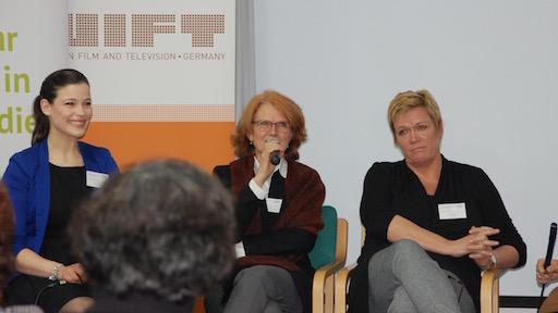 Melek Balgün, Silke Räbiger und Dagmar Kieselbach