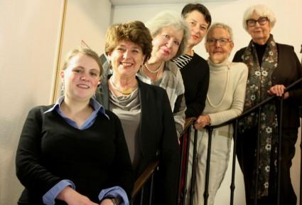 Von links nach rechts: Rebecca Beerheide, Andrea Ernst, Eva Kohlrusch, Ulrike Helwerth, Inge von Bönninghausen, Gisela Brackert (Foto: Jasmin Andresh)