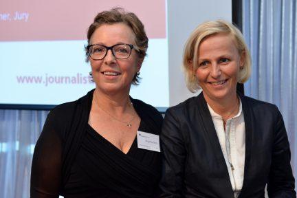 Angelika Netz und Sandra Petersmann (Foto: Oliver Ziebe)
