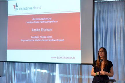 Annika Erichsen (Foto: Olvier Ziebe)