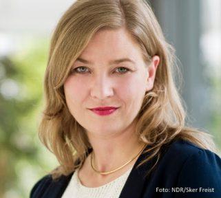 Anna Mareike Krause, Social Media Koordinatorin bei der Tagesschau