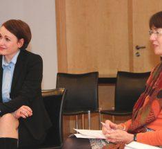 Gesprächsrunde mit Diana Löbl und Regina Völz (Foto: Corinna Klingler)