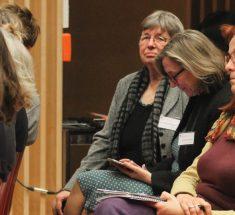 Teilnehmerinnen bei der Eröffnung des Medienlabors (Foto: Corinna Klingler)