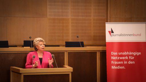 Viviane Reding, Mitglied des Europäischen Parlaments und Vizepräsidentin der EU-Kommission a.D.