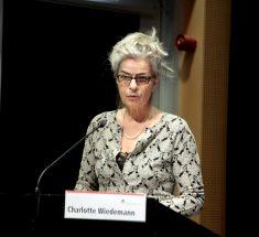 Carlotte Wiedemann hielt die keynote beim Medienlabor 2018 (© Lale Cakmak)