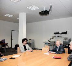 Gesprächsrunde mit Najima El Moussaoui (© Lale Cakmak)