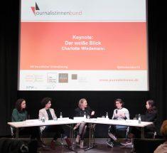 Die Paneldiskussion beim Medienlabor 2018 (© Lale Cakmak)