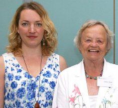 Portrait Juliane Schiemenz und Marlies Hesse bei der MHNP-Preisverleihung 2015