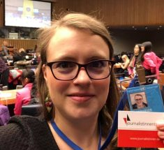Rebecca Beerheide bei CSW63 in New York