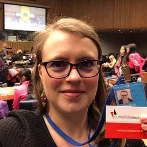 Rebecca Beerheide bei CSW63 in New York