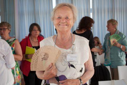 Die Stifterin des Preises, Marlies Hesse (Foto: Susan Paufler)