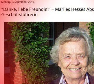 Ausschnitt Aufmcherbild eines Watch-Salon-Posts über Marlies Hesse